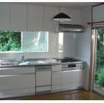 三芳町H様邸のキッチンの施工例です。